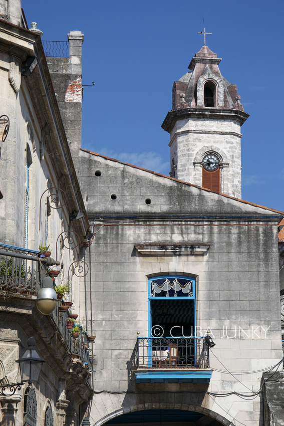 Plaza de la Catedral Old Havana Cuba