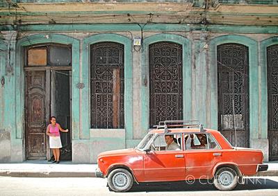 Havana casa particular and Lada