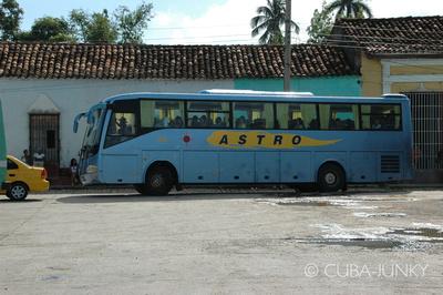 Astro bus Cuba