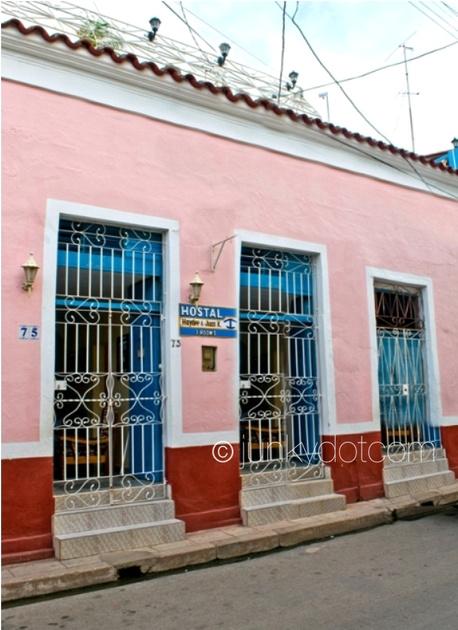 Hostal Haydee y Juan K Remedios Cuba