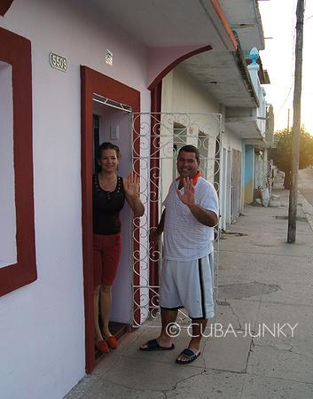 Casa Huespedes Osmany y Iliana Cienfuegos