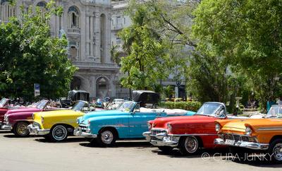 Convertible Taxi Havana